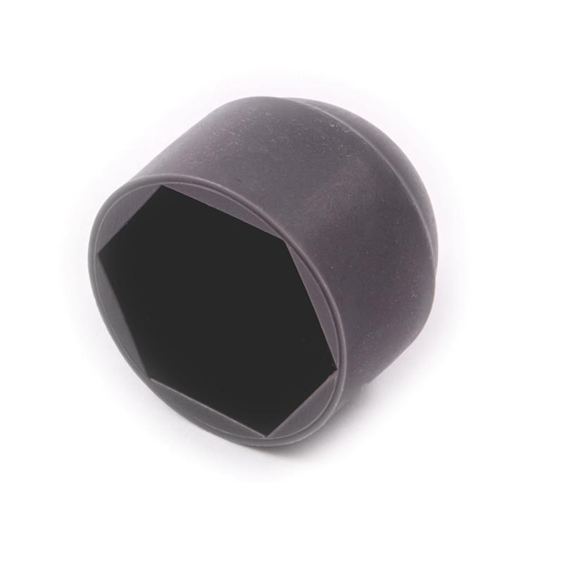 Dark Grey Plastic Bolt Cover Caps Bolt Caps Screw Cups