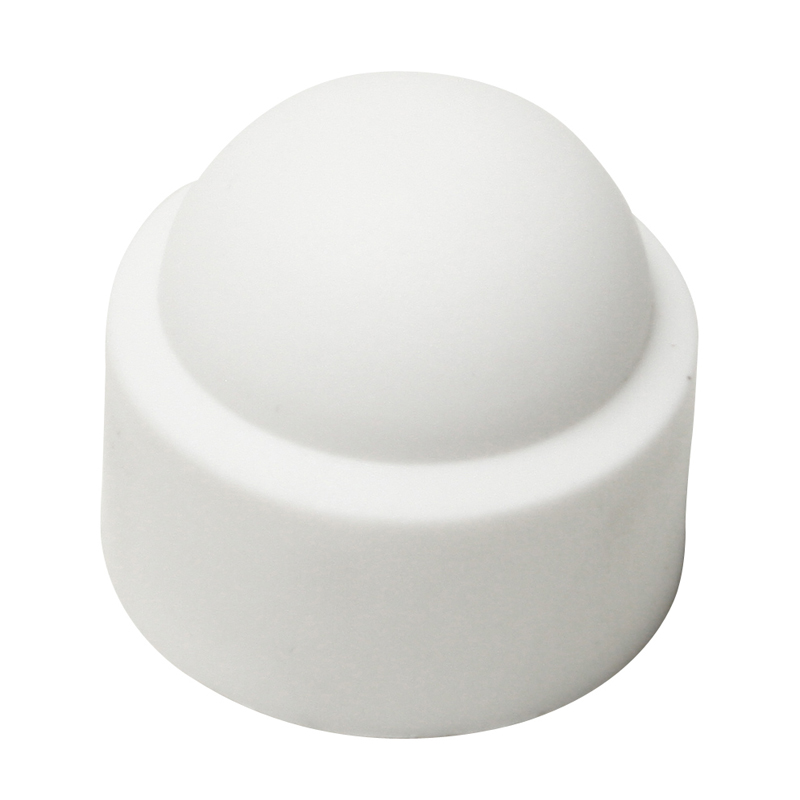 White Plastic Bolt Cover Caps Bolt Caps Screw Cups