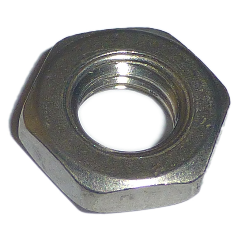 A stainless half locking nuts