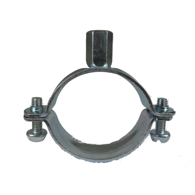 Quick clamp unlined pipe clips