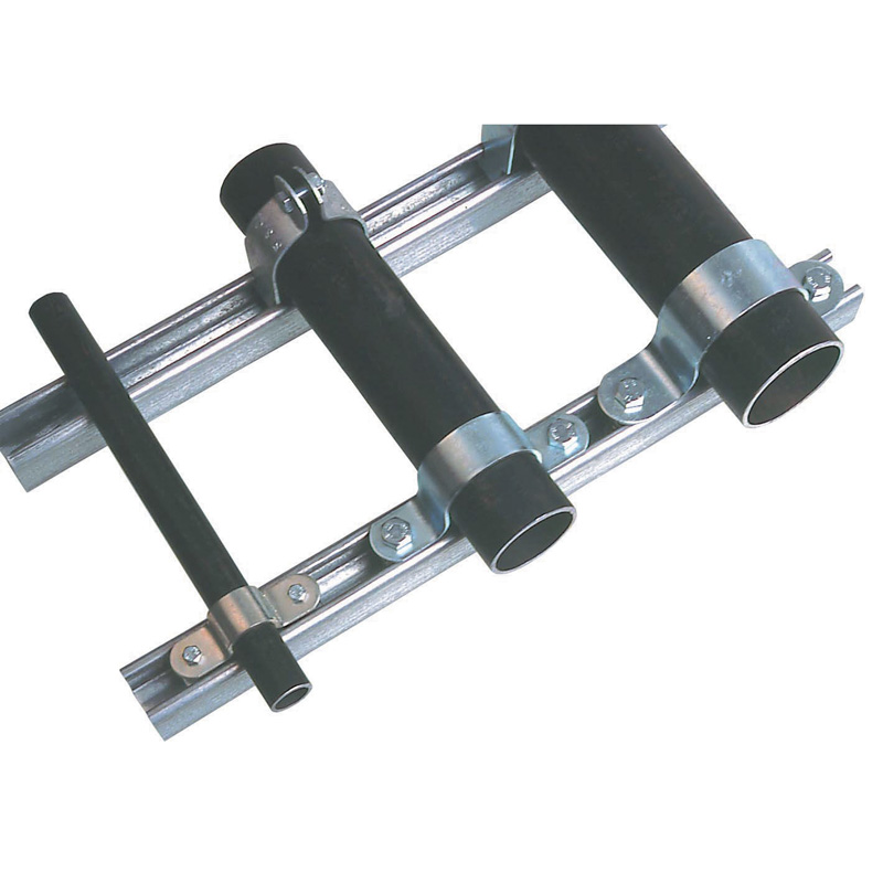 Pipe saddle clamps plumbing clips