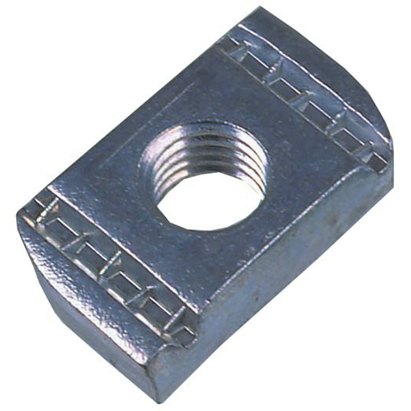 Pack of 50 M8 Plain Channel Nuts Zinc Plated