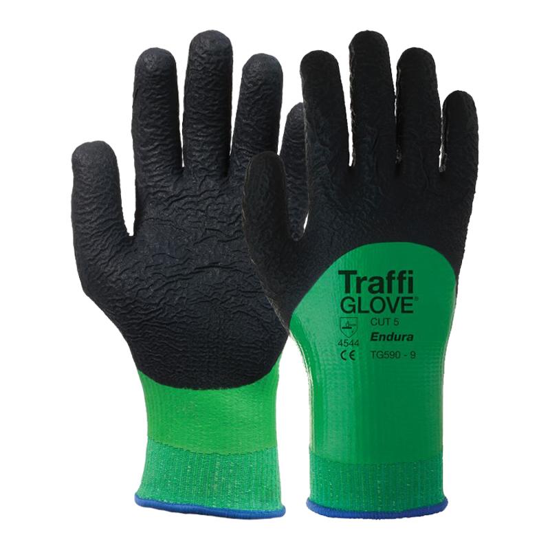 Morphic 5 Green Cut Level 5 Traffi Glove Tg5140 Higher