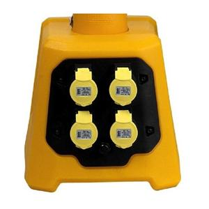 110V V3 Uplighter Base Unit with 4no. Take-off Sockets (use with V921-326 Light Stick)