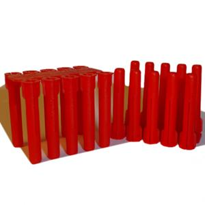 5.5mm Red (TP2) Thorsman Plastic Plugs