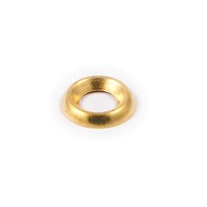3.0mm (4-5g) Brass Surface Screw Cups