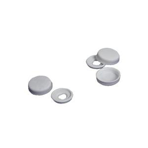 6.3mm (12g) White Unicaps Screw Cover Caps