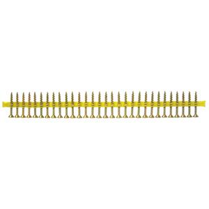 QuikDrive Yellow Countersunk Coarse Thread Woodscrews