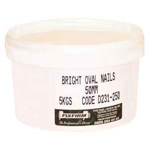 30mm Bright Oval Nails-5kgs