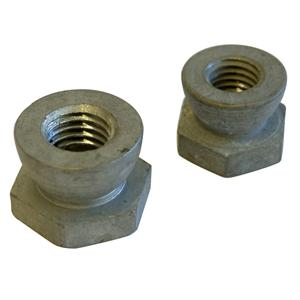 M8 SN08 Galvanised Security Shear Nuts