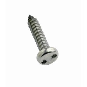Stainless Pan Head 2 Hole Security Self Tapping Screws