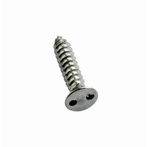 Stainless Countersunk 2 Hole Security Self Tapping Screws