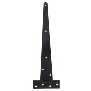 100mm Light Pattern Black Japanned Tee Hinges
