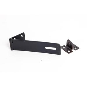 150mm No HS617 Black Safety Hasp and Staple