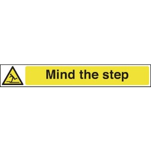 60x400mm Mind the Step - Self Adhesive