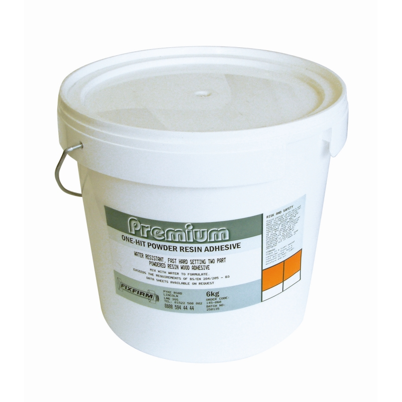 One-Hit Water Ressitant Powder Adhesive