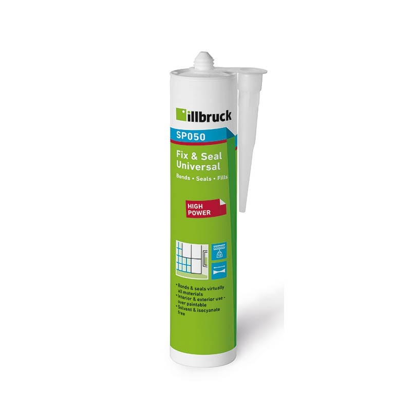 White 600ml Sausage TREMCO SP150 Hybrid Polymer High Grab Adhesive