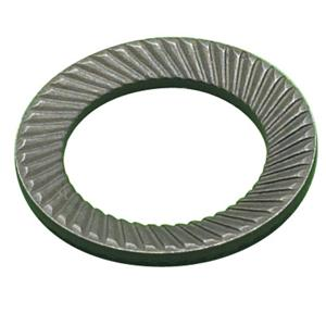 Self Colour Serrated Disc Washers