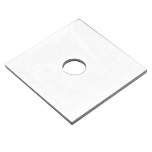 M8x40x3 BZP Square Plate Washers