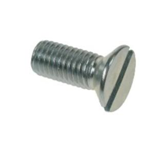 BZP Countersunk Slotted Machine Screws