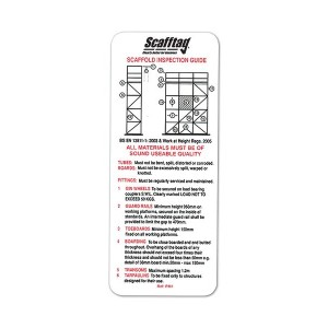 Scafftag Scaffold Inspection Guide Pocket Guide