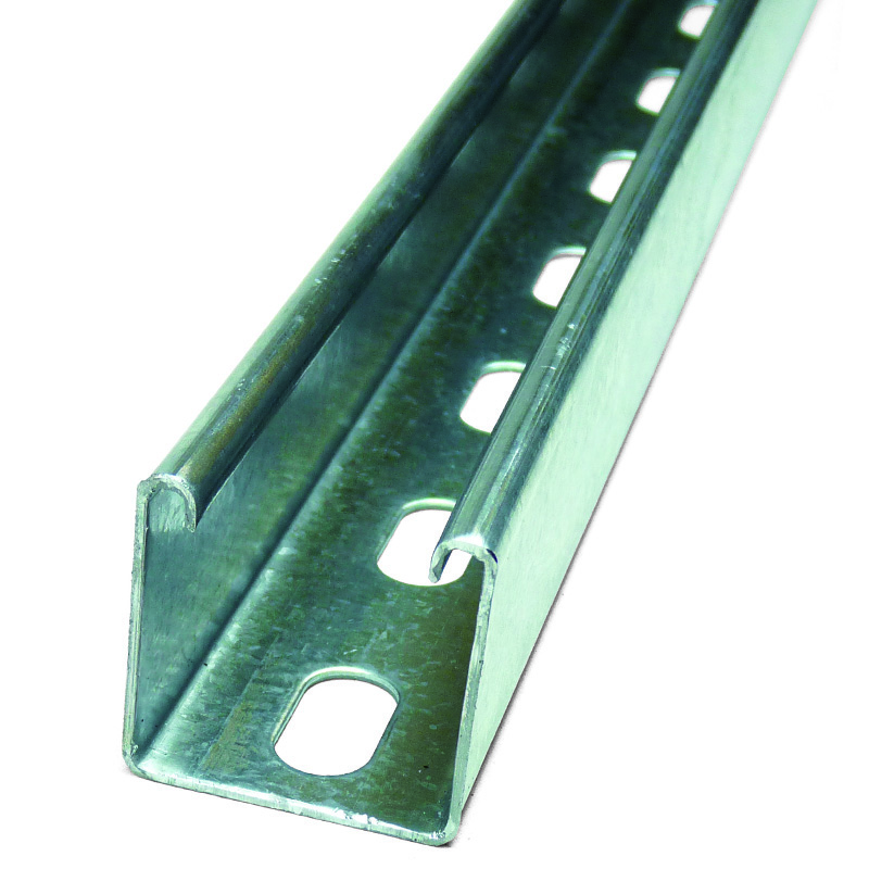 150mm 41mm Pre-cut Slotted Channel