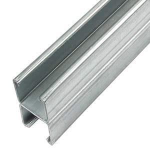 2x41mm  Heavy Back to Back Plain Channel - 3m