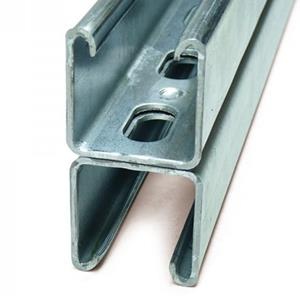 2x21mm  Heavy Back to Back Slotted Channel - 3m