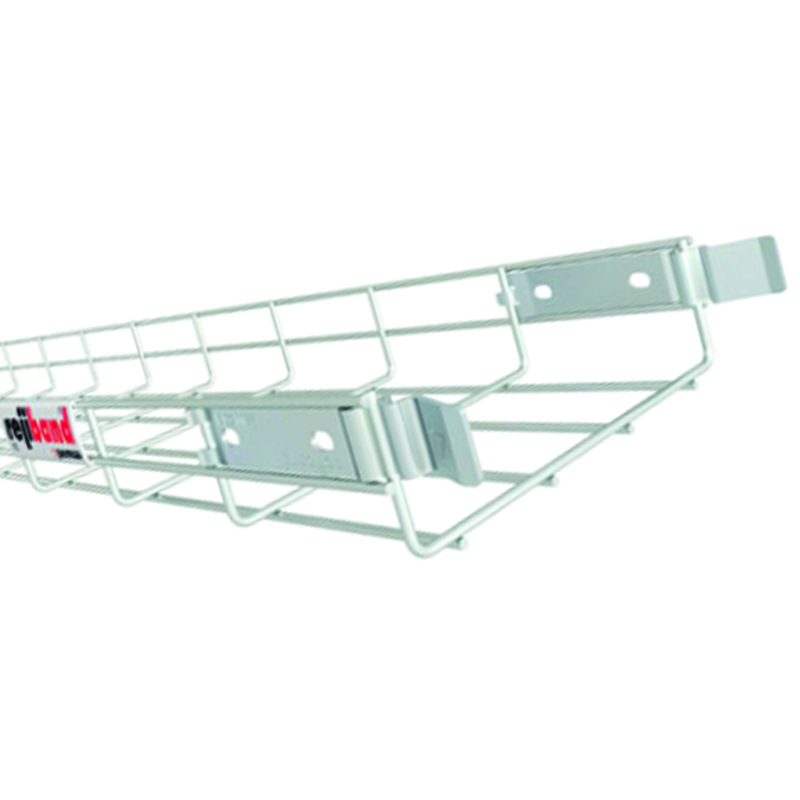 BT100-60ZP 100x60mm ZP Cable Basket Tray - 3m Length