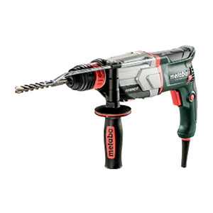Metabo KHE 2660 Quick 110V: 850 W, 3.0J, 3 Function SDS+ Hammer, Quick change 3 Jaw Chuck, Carry case