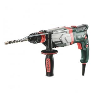 Metabo UHEV 2860-2 Quick 110V: 800 W, 2.8J, 4 Function SDS+ Hammer, Quick change 3 Jaw Chuck, Carry case