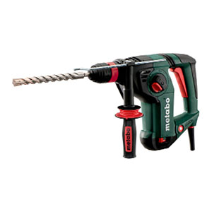 Metabo KHE 3251 240V: 800 W, 3.1J,  3 Function SDS+ Hammer inc 3 Jaw Chuck, Carry case