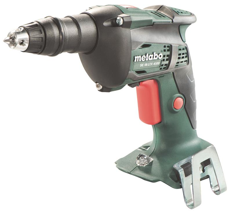 Metabo SE 18 LTX 4000 Drywall Screwdriver, Body Only + MetaLoc