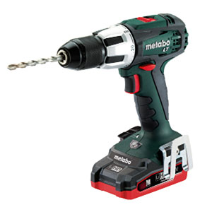 Metabo SB 18 LT Combi Drill, Body Only + MetaLoc