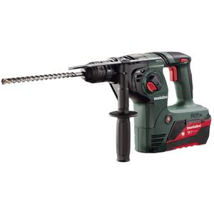 Metabo KHA 36 LTX 3 Function SDS Hammer, 2 x 36V 5.2Ah Li-ion, ASC ULTRA Charger, Carry case