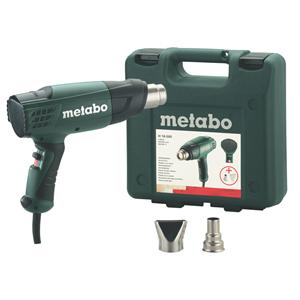Metabo H 16-500 240V, 1,600W Heat Gun with accessories in Carry Case