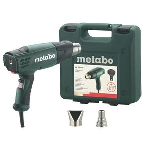 Metabo HE 20-600 240V, 2,000W Heat Gun with accessories in Carry Case