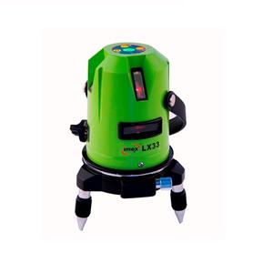 LX33D Imex 3 Line Self - Leveling Laser Level c/w Detector