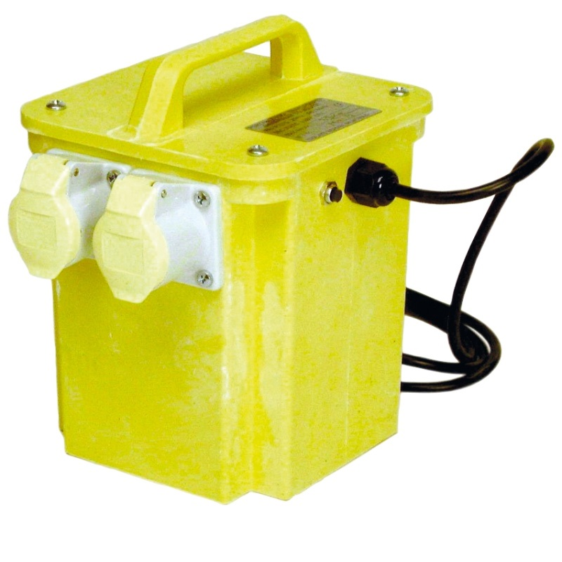 1.5kVA 110v Transformer c/w 2x16A Outlets