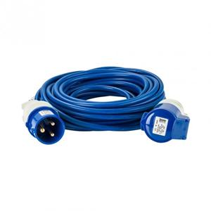 14mx1.5mm 240V BLUE Artic Trailing Lead - 16AMP