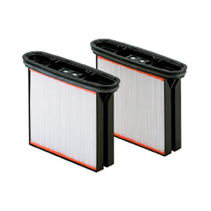 Metabo 2 Polyester Filter cartidges for ASR 35 M