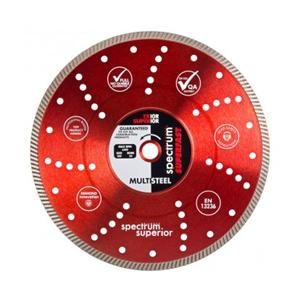 300x20mm TX10R *Promo Pack*  1x Turbo Multi-Steelcut Diamond Blade c/w 5mt OX Tape Measure
