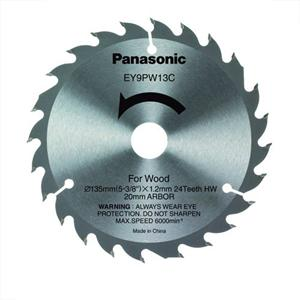 135x20mm 24T Panasonic EY9PW13C Wood Cutting Saw Blade for Circular Saw
