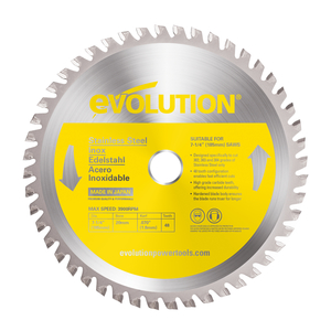 Evolution TCT Stainless Steel Cutting Blades