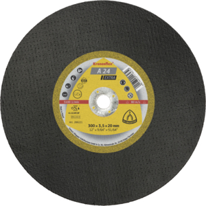 300x3.5x20mm Axxion Flat Metal Cutting Discs