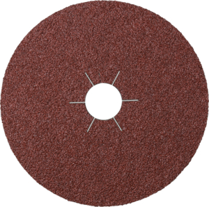 100mm-60g Aluminium Oxide Fibre Backed Sanding Discs