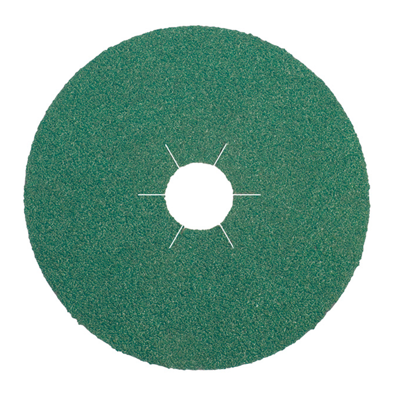 115x22/36g FS966ACT Klingspor Ceramic Fibre Backed Sanding Discs
