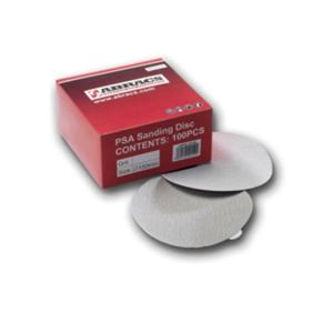 150mm 320g Self Adhesive Finishing Discs - 6 Hole