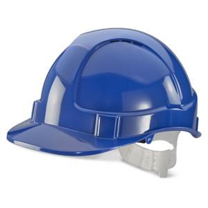 Blue Standard Contract Safety Helmet