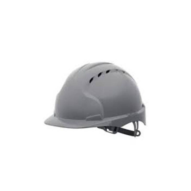 EVO®2 Safety Helmet with Slip Ratchet - GREY - Vented - 'Pickstock Construction' Branded to front